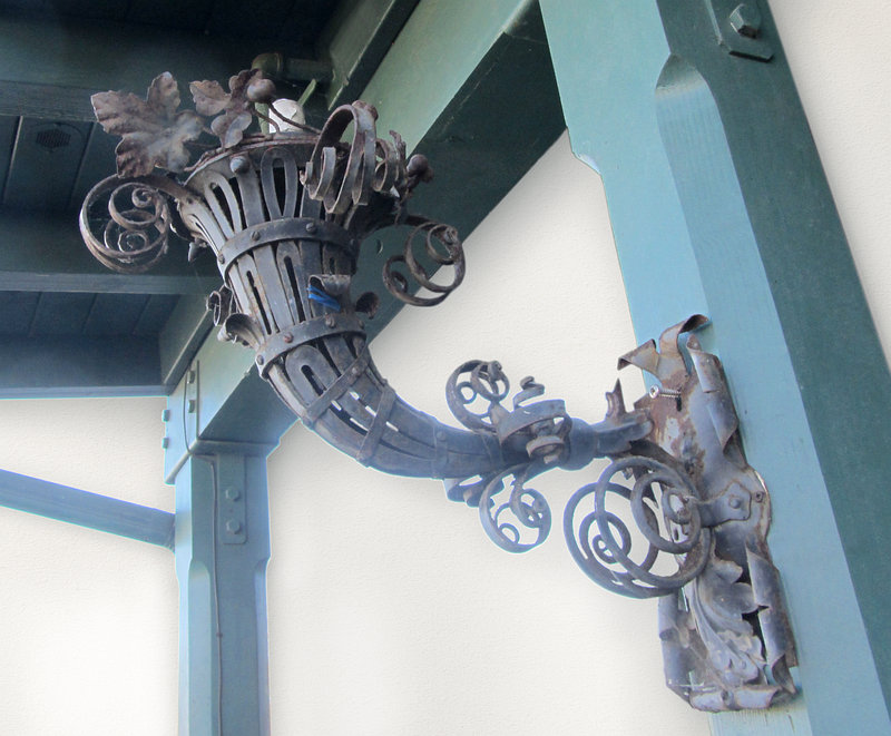 Pair of Wrought Iron Brackets