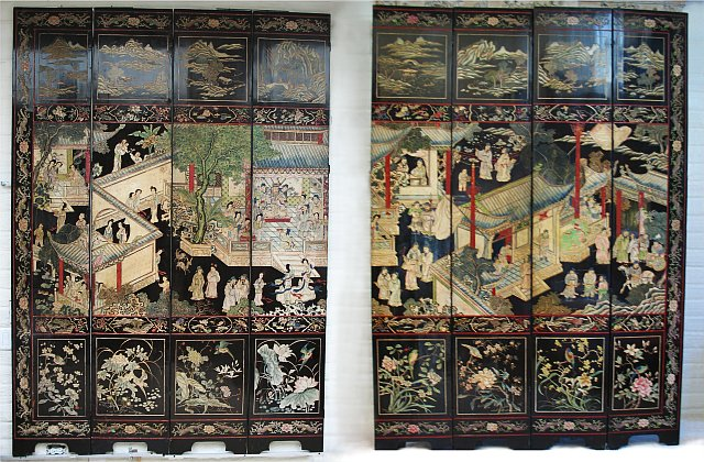 Eight Panel Coromandel Screen
