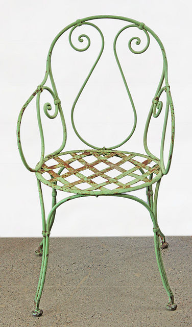 French Iron Garden Chair