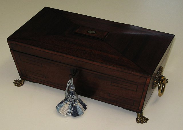 Regency Tea Caddy