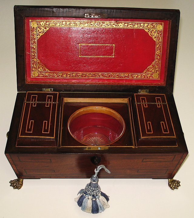 Regency Tea Caddy 1