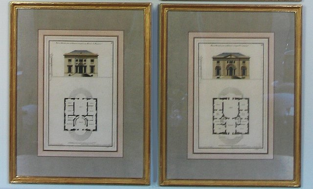 Set of Six French Architectural Engravings 2