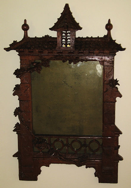 German Carved Frame with Mirror