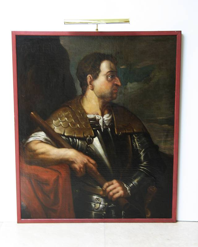 Painting of Roman Emperor