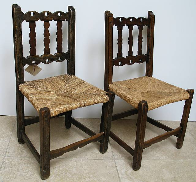 Pair of Spanish Side Chairs