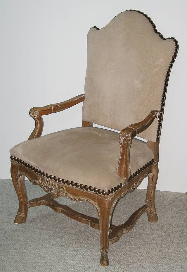 Regence Style Arm Chair