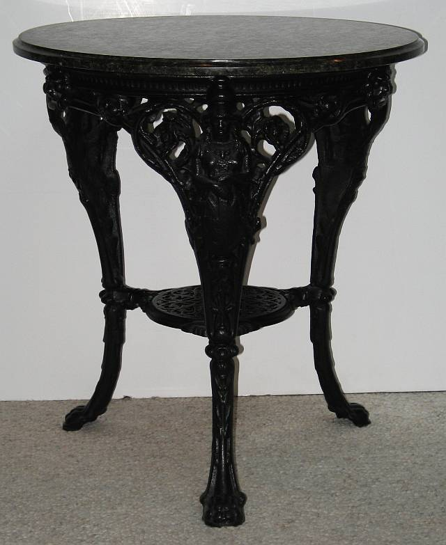 Victorian Cast Iron Table