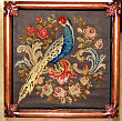 Victorian Needlework Bird