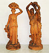 French Terra Cotta Figures