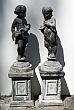 Pair of French Cast Lead Figures